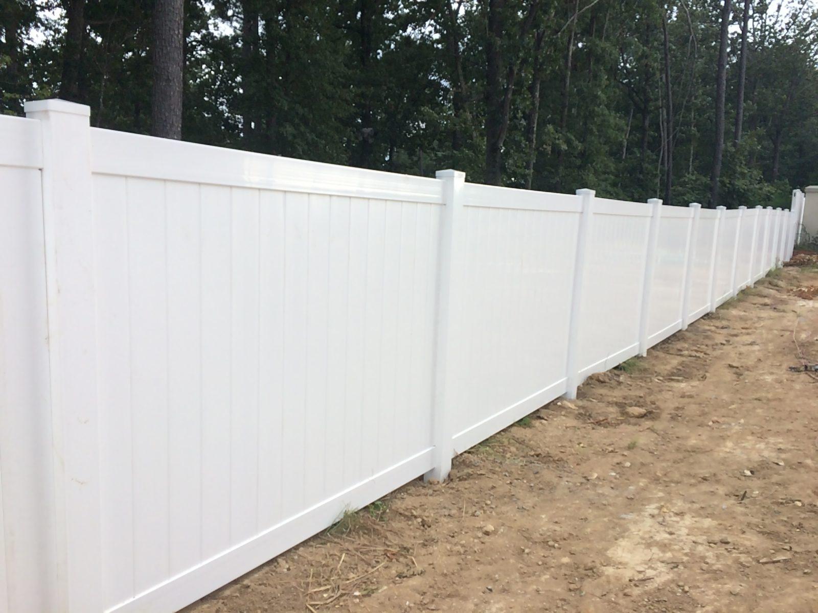 vinyl fences residential fence mcdonough fence pany