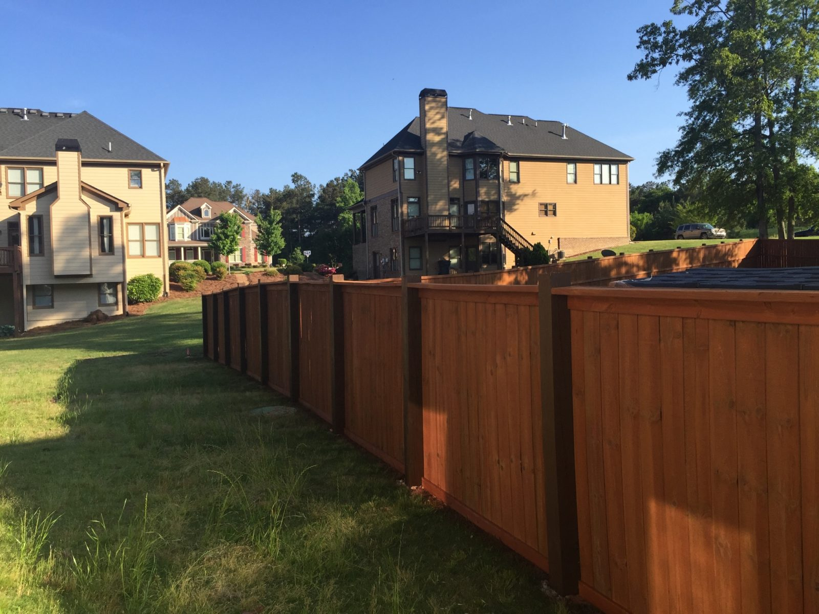 Picture of: Why You Should Stain And Seal Your Fence This Summer